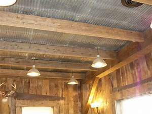 the 25 best tin ceilings ideas on pinterest metal With barn wood ceiling panels