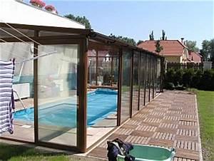 Použité zastřešení bazénu