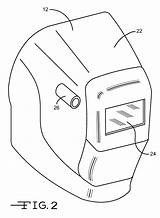 Welding Drawing Helmet Welder Pages Coloring Sketch Patents Drawings Template Patent Paintingvalley sketch template