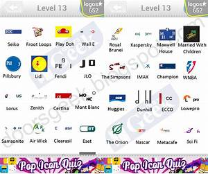 Logo Quiz Level 13 Answers by bubble quiz games Answers ...