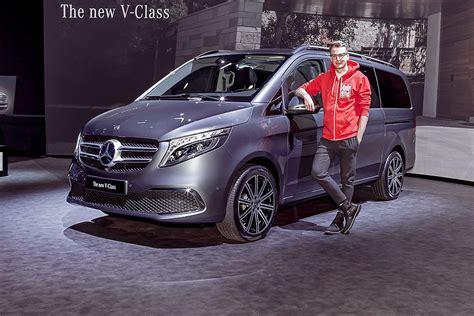 Mercedes V Klasse 2019 by Mercedes V Klasse Facelift 2019 Bilder Autobild De