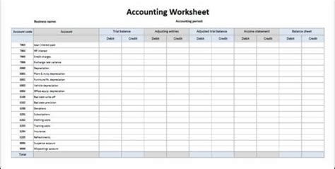 accounting journal template spreadsheet templates