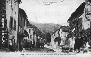 mayres 07330 ardeche la ville mayres sa mairie et With des plans pour maison 12 ancienne abbaye saint martin maison de ville tournai photo