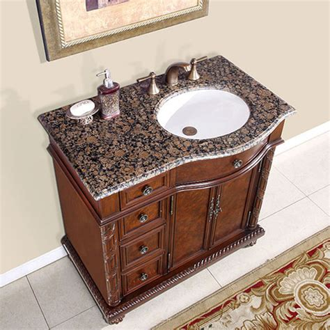 5 foot vanity top single sink 36 quot to 55 5 quot favara single bath vanity bathgems com