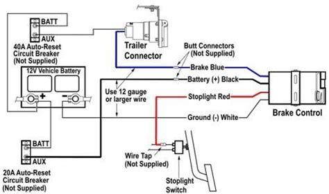 wiring diagram tekonsha voyager brake controller