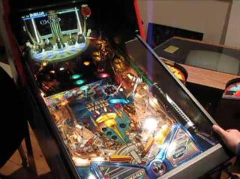 star wars episode  pinball machine youtube