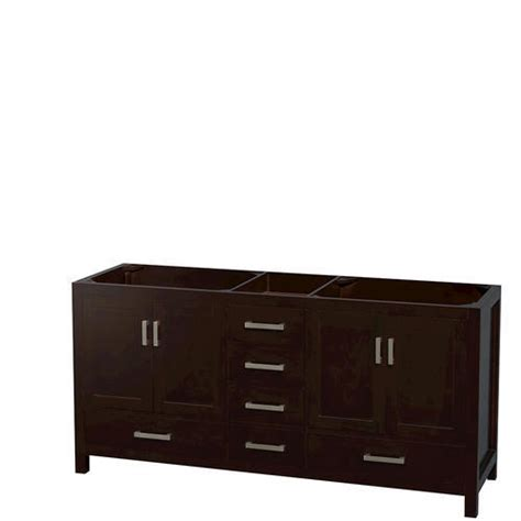 wyndham collection sheffield 72 quot espresso double vanity
