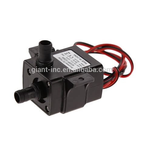 small fountain water pump  dc motor submersible solar