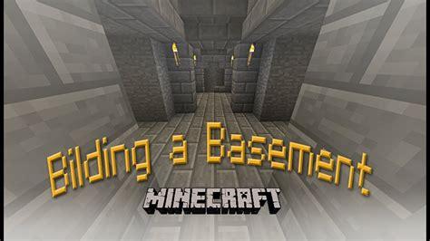 hard core minecraft   build  basement  mineshaft   house part  youtube
