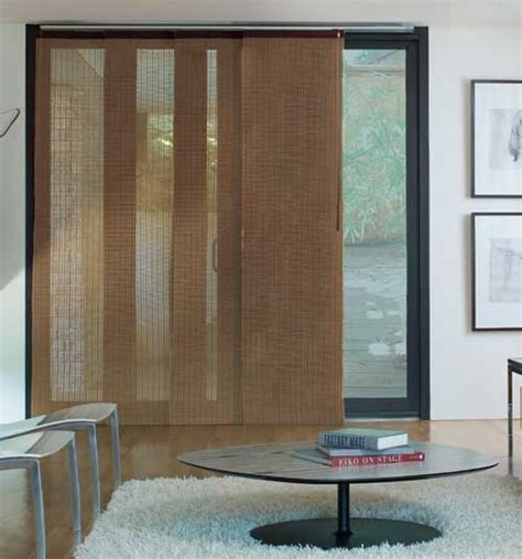 sliding door shades the options of window coverings for sliding glass door