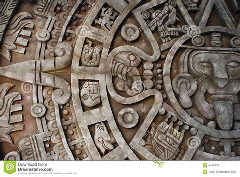 aztec calendar royalty  stock photography image