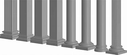 Columns Base Decorative Mouldings Exterior Bases Capitals