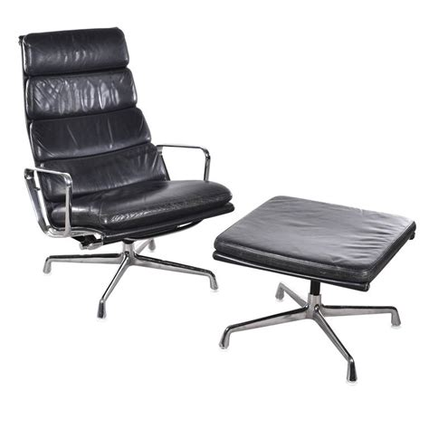 eames ea222 and ea223 lounge soft pad herman miller