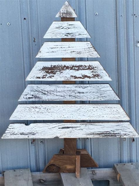 wood christmas trees pallet trees porch decor christmas