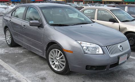 2007 Mercury Milan by 2007 Mercury Milan Base Sedan 2 3l Manual