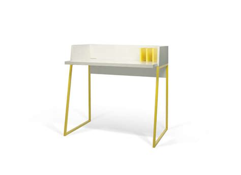 pietement bureau bureau pietement jaune achatdesign