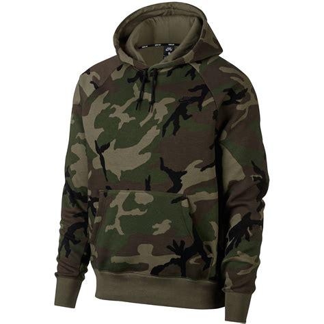 drawcord hoodie nike sb pullover camo hoodie medium olive black