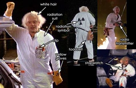 doc brown costume radiation suit bttf part 1