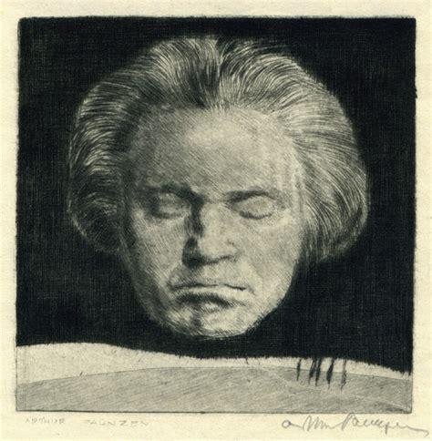 portrait  beethoven  arthur paunzen annex galleries