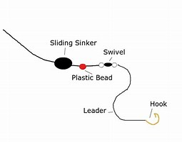 Image result for slip sinker rig for trout