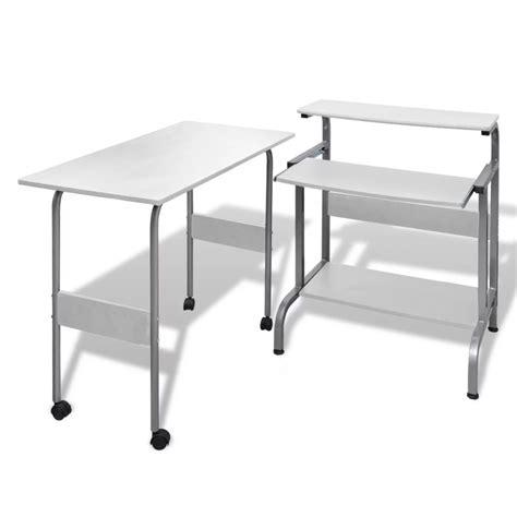 table pour bureau acheter table de bureau réglable blanche pour ordinateur