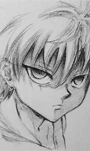 Killua Zoldyck sketch ... | Naruto sketch, Anime drawing ...
