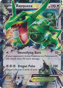 Rayquaza EX 75/108 - ULTRA RARE - Cards Outlet