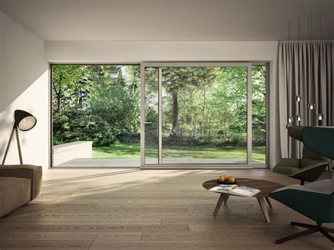schueco ass   slim sliding lift   doors