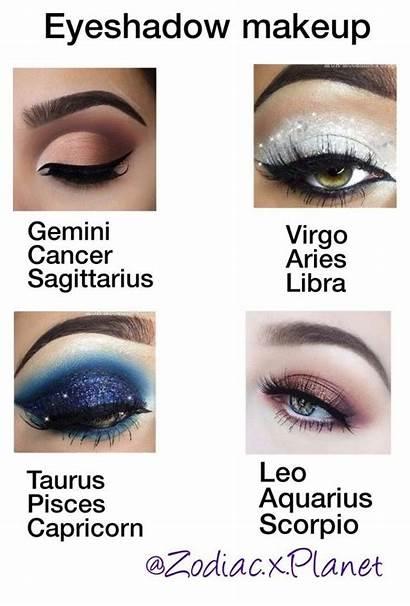 Polyvore Zodiac Signs Sagittarius Eyeshadow Horoscope Makeup