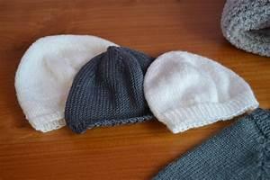 Modele De Tricotin Facile : modele pour tricoter un bonnet de naissance ~ Melissatoandfro.com Idées de Décoration