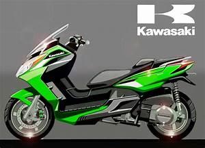 Kawasaki Roller 125 : kawasaki j300 avvistato il nuovo scooter giapponese a milano ~ Kayakingforconservation.com Haus und Dekorationen