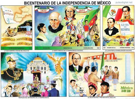 lamina escolar bicentenario de la independencia de m 233 xic