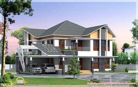 beautiful kerala style house elevations kerala home design  floor plans