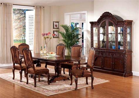 ashley dining set pc woptional chairs buffet  hutch
