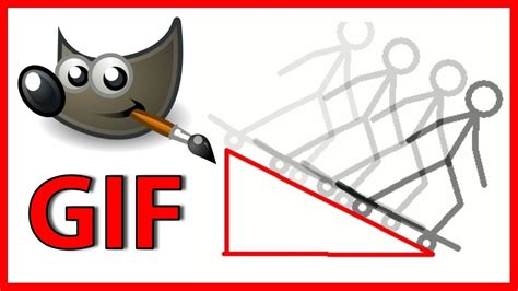 create  gif animation  gimp tutorial youtube