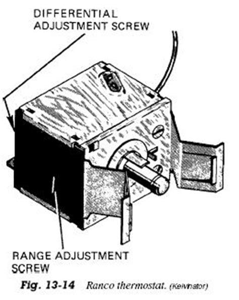 freezer thermostats refrigerator troubleshooting diagram