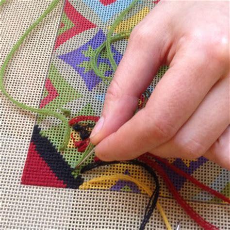how to needlepoint needlepoint kits handmade bucherie com