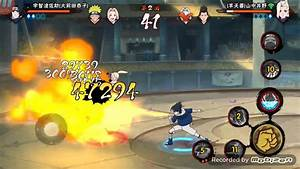 Naruto Mobile Android Gameplay Pvp Mode Youtube