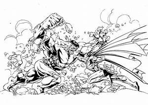 Coloriage à imprimer : Personnages célèbres - Comics ...