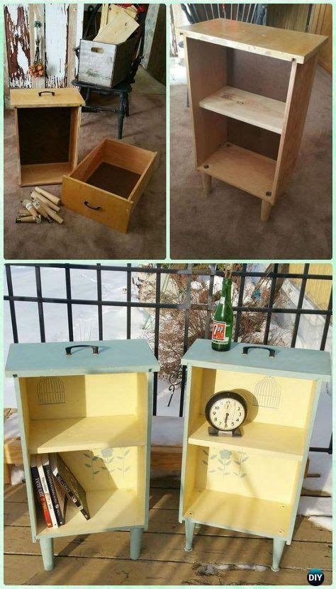 recycle  drawer furniture ideas projects