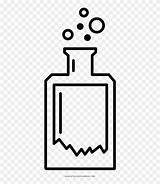 Potion Coloring Line Clipart Pinclipart sketch template