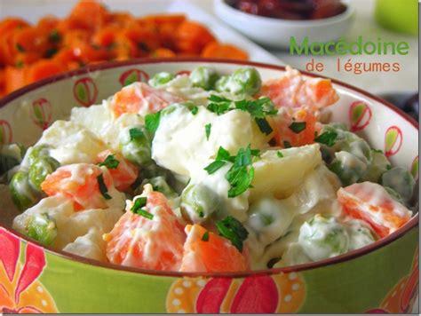 recettes cuisine marocaine macédoine de légumes mayonnaise le cuisine de samar