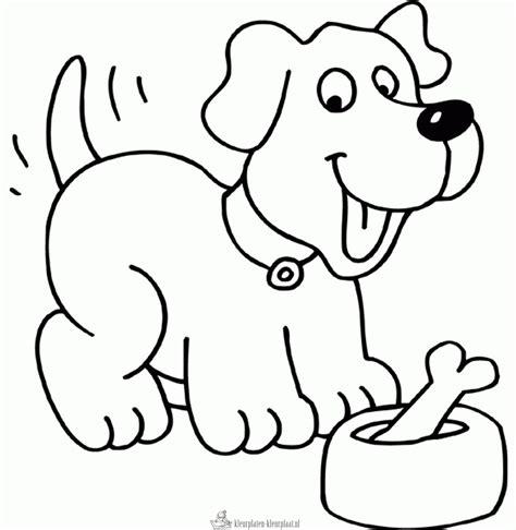 Dieren Kleurplaat Hond by Kleurplaten Hond Kleurplaten Kleurplaat Nl