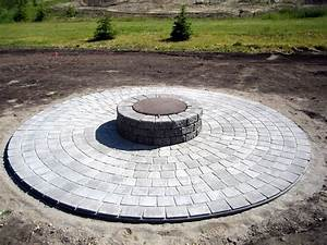 The best pattern of round patio pavers ideas