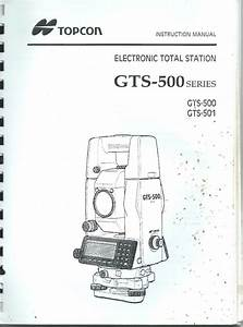Topcon Total Station Gts