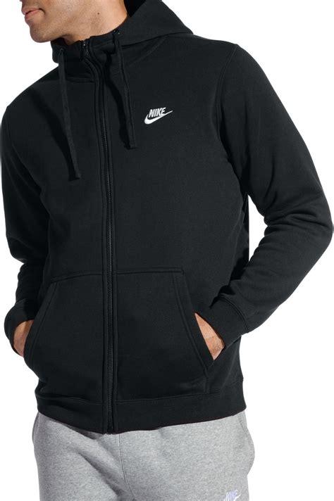 Hoodie Zipper Sweater Logo Nike nike s sportswear club fleece zip hoodie