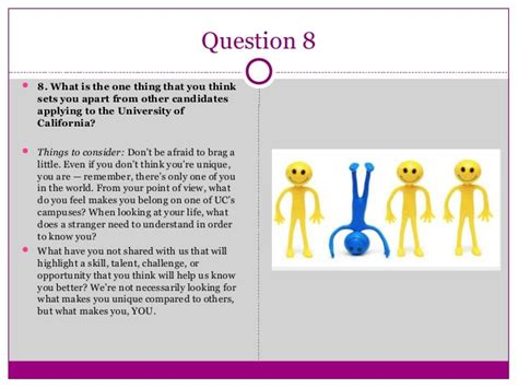 What Makes You Stand Out From Other Applicants by Writing Great Uc Personal Insight Question Responses