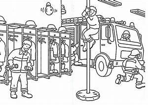 Ausmalbilder, Feuerwehr, 4