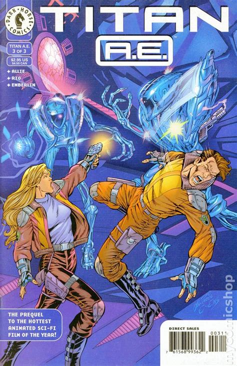 titan ae  comic books