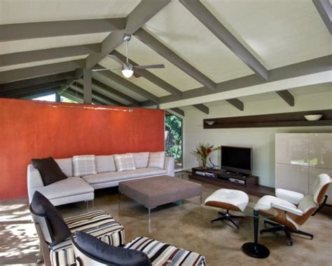painted beams houzz